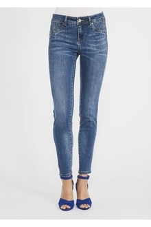JEANS CON STRASS GAUDÌ